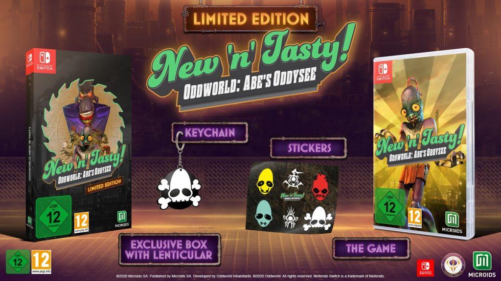 Oddworld New 'n' Tasty Limited Edition