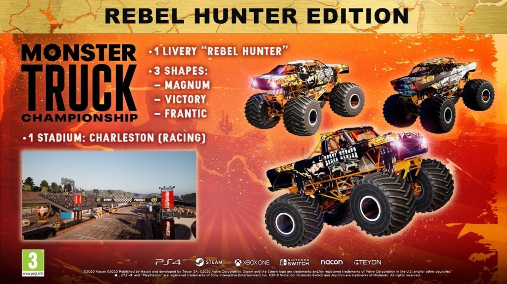 Monster Truck Championship édition Deluxe