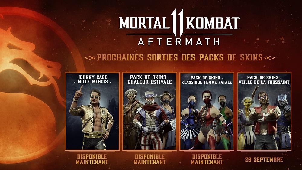 Mortal Kombat 11 Aftermath Veille de la Toussaint