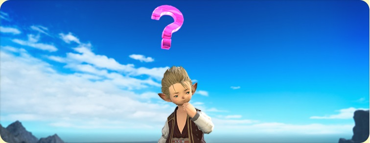 Final Fantasy 14 Online Emote S'interroger