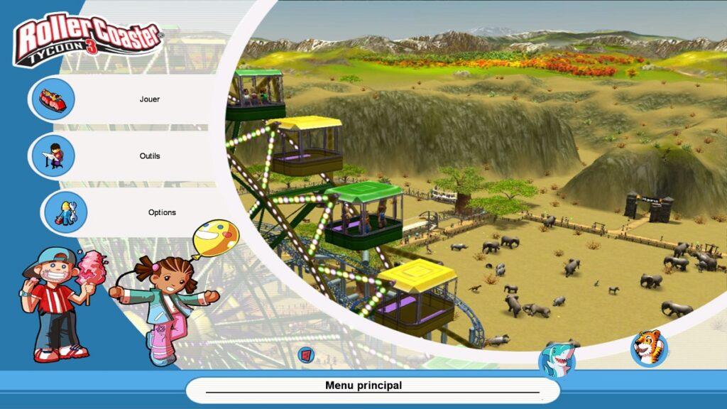 Avis RollerCoaster Tycoon 3 Complete Edition