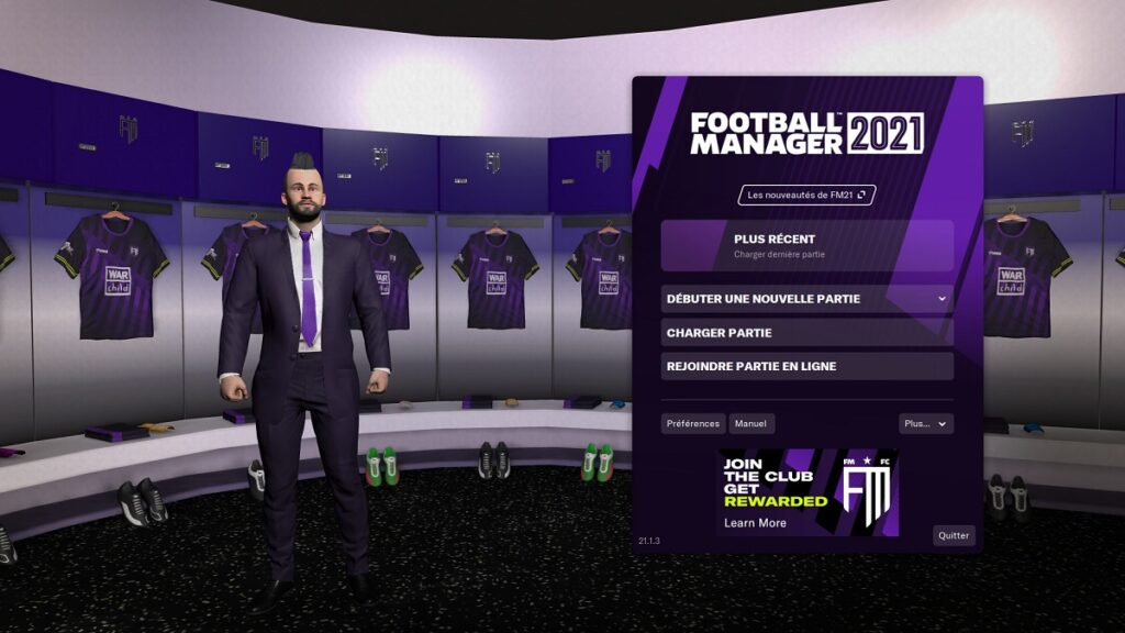 Avis Football Manager 2021