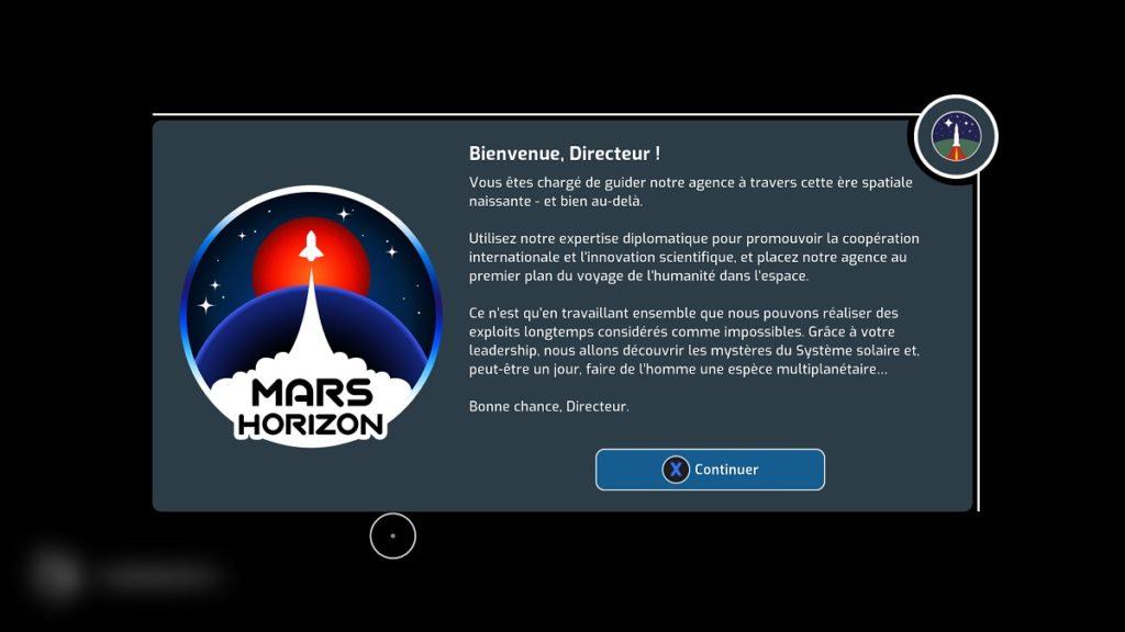 Avis Mars Horizon