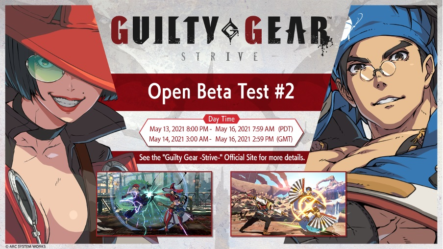 Guilty Gear Strive Bêta Ouverte 2