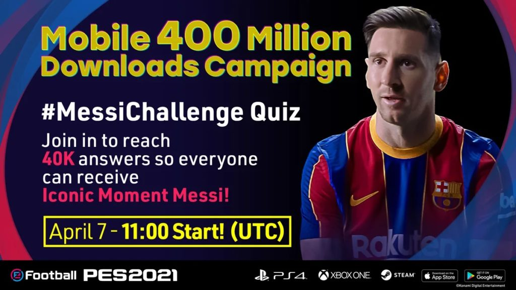 eFootball PES 2021 Mobile Messi