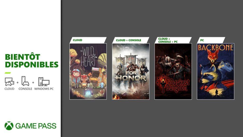 Xbox Game Pass Ajouts Juin 2021